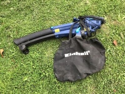 Einhell electric garden vac blower little used and in good condition