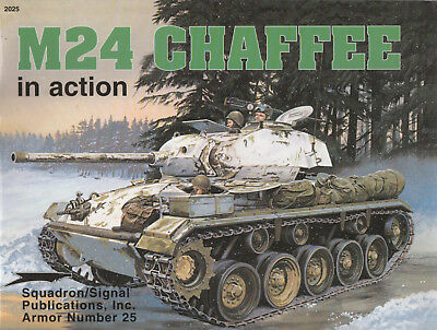 Walk Around No. 25: M24 CHAFFEE in Action-World War Two (II) #2025