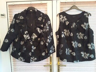 Chesca size 22 top and jacket