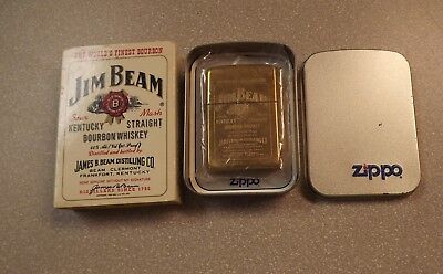 Zippo Lighter Jim Beam 254BJB in Original Tin