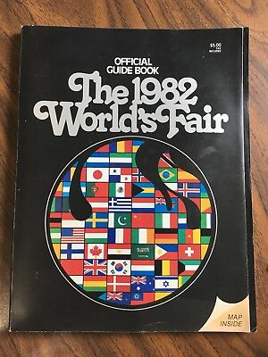 Official Guide Book The 1982 World's Fair Knoxville, TN, Illust. w/ Map PB