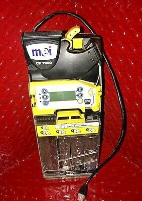 DCA MEI MARS CF7512i 34V CASHFLOW MDB 5 TUBE COIN CHANGER REFURBISHED