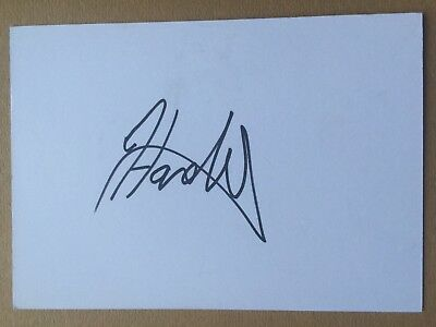 Tom Hardwick - English Rugby Player Signed 6x4 Card