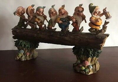 Seven Dwarfs Figures Disney Collectible Figurines Characters Traditions 8.25""
