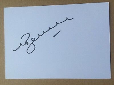 Mark Bakewell - New Zealand Rugby Player Signed 6x4 Card