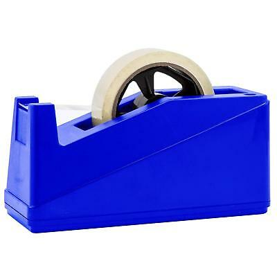 "Desktop Tape Dispenser Adhesive Roll Holder (Fits 1"" & 3"" Core) Heavy Duty"