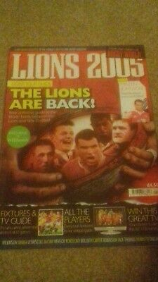 Lions 2005 Tour Magazine From Makers Of Rugby World
