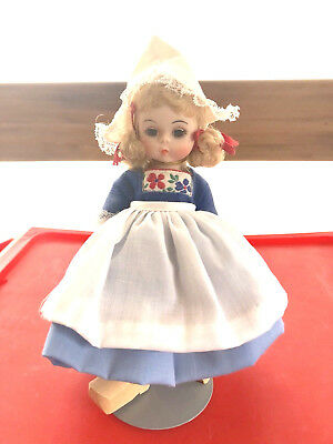 "REDUCED! Vintage 8"" Madame Alexander NETHERLANDS Doll Circa 1970-80s w/Box"