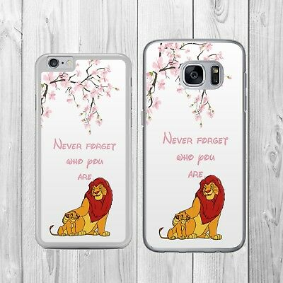 DISNEY LION KING SIMBA  CHERRY BLOSSOM   Phone Case Cover for iPhone Samsung