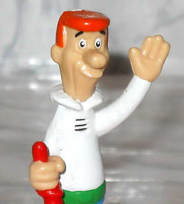THE JETSONS George Father Space Glider Wheels Hanna-Barbera Wendy's Toy Food