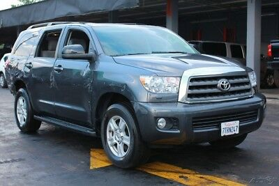 2017 Toyota Sequoia SR5 4x4 4dr SUV 2017 SR5 4x4 4dr SUV Used Damaged, wrecked, project, repairable, salvage