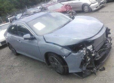 2018 Honda Civic EX 4dr Hatchback 2018 EX 4dr Hatchback Used Damaged, wrecked, project, repairable, salvage