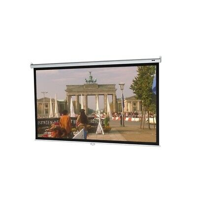 Da-Lite Model B Manual Pull Down Projection Screen 69x92 120 Diagonal Matte Whit