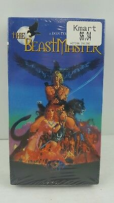 The Beastmaster VHS Video Don Coscarelli Anchor Bay 1982 Marc Singer Rip Torn