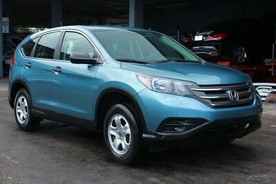 2014 Honda CR-V LX 4dr SUV 2014 LX 4dr SUV Used 2.4L I4 16VDamaged, repairable, salvage title.