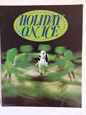 1974 Holiday On Ice Snoopy program