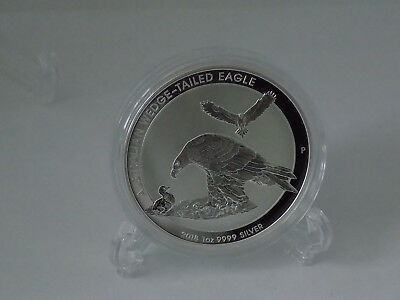 2018 Perth Mint Australian Wedge Tailed Eagle 1oz Silver .9999 Bu Coin unc.