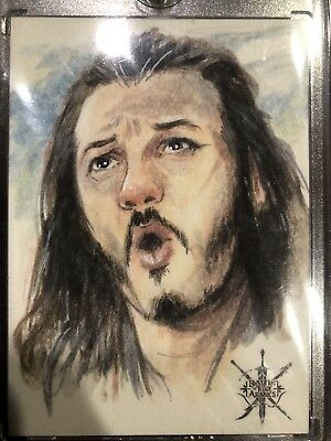 The Hobbit Battle Of The Five Armies Bard The Bowman Sketch By Plinio Pinto Cryp