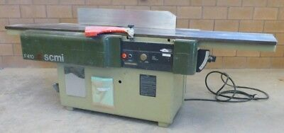 "SCMI F410 16"" Industrial Woodworking Jointer/Planer"
