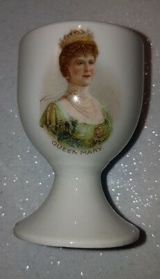Antique collectable Queen Mary egg cup