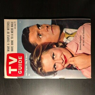 1965 TV Guide - Bewitched - Elizabeth Montgomery - Dick York - Liza Minnelli