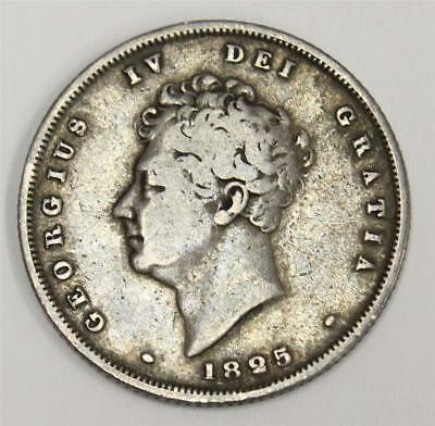 1825 shilling Great Britain S2812 George IV F12