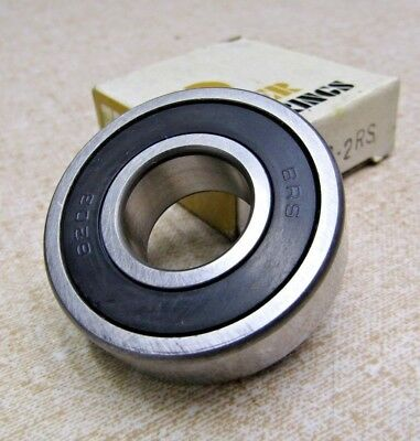 Peer One Side Rubber Sealed Single Row Ball Bearing 6302RLD New