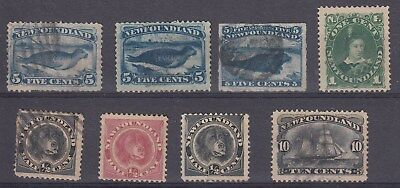 Newfoundland - Small Lot of Older Issues