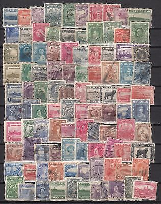 Newfoundland - Lot of 100 Different Stamps