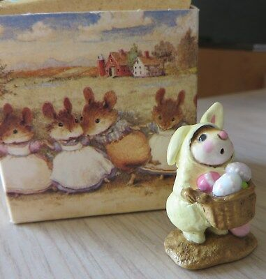 Wee Forest Folk M-82 Easter Mouse 1982