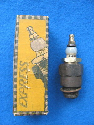 Vintage 18mm EXPRESS #29 spark plug with BOX