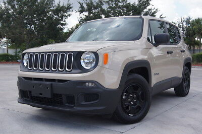 2016 Jeep Renegade SPORT 2016 Jeep Renegade Sport, 6-speed Manual, 1.4 turbo LIKE NEW NO RESERVE