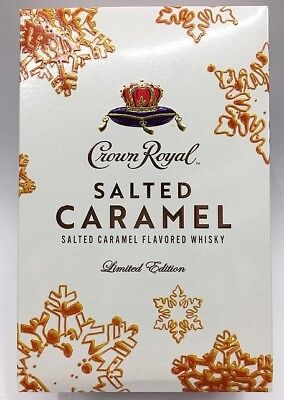Salted Caramel Crown Royal Limited Edition Sealed Box - RARE