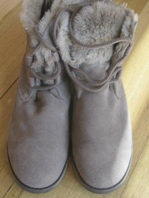 Emu - womens suede and sheepskin boots size 42-excellent condition