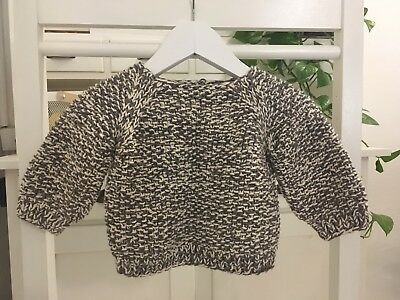 Incredible MISHA + PUFF Pima Cotton Chunky Knit Jumper 3-6 Months 00