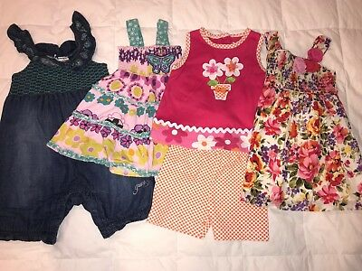 Baby Girls Lot- 5 Piece - 18 Months - Guess, Haven Girl