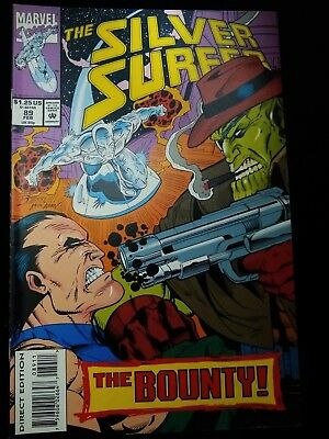 """THE SILVER SURFER # 89 - Marvel 1993 NM """"The Bounty"""""""
