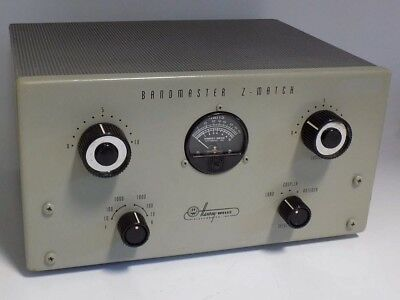 Excellent Rare Harvey-Wells Z-Match 3.5-30 Mhz 1000W Pep, 500W Cw Antenna Tuner