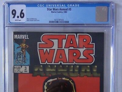 Star Wars Annual 3 (Marvel '83) - CGC 9.6 - WHITE PAGES / FREE SHIPPING
