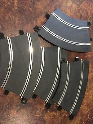 Scalextric Sport Curved Track. 4 Pieces.