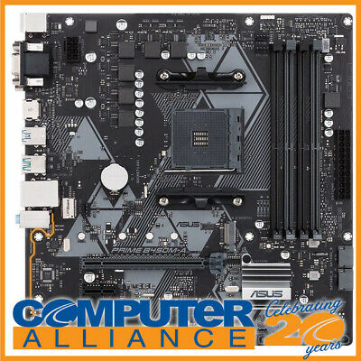 ASUS AM4 MicroATX PRIME B450M-A DDR4 Motherboard