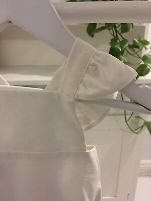 DAUGHTER CO Sparrow Romper in Ivory Linen 00 BRAND NEW