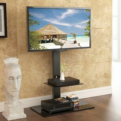 Swivel Tv Stand With Height Adjustable Mount For Toshiba Sony Vizio