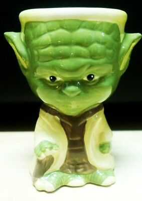 Yoda Star Wars Ceramic Goblet Cup Mug Bowl Candy Dish Galerie NO CHIPS! CLEAN 3D