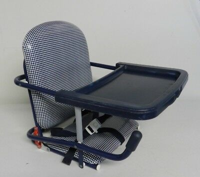 Genial Vintage Graco Tot Loc Lock Clip On Table Top High Chair Booster Seat W/ Tray