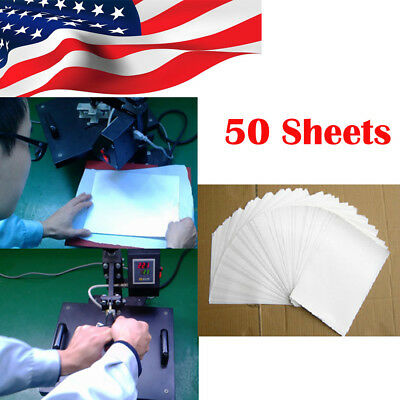 50 Sheets A4 Heat Transfer T-Shirt Laser/Inkjet Iron-On Paper For Light Fabric