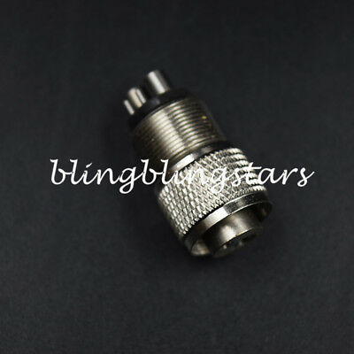 Dental 4 to 2 Hole High Fast Speed Handpiece Tubing Adapter Changer Connector