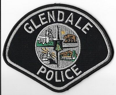 Glendale Police Department, California Shoulder Patch