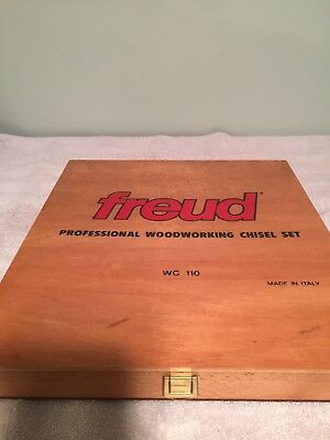 Freud WC-110 Professional Woodworking Chisel Set=All Handle Stickers Intact=Rare