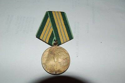 "Authentic Russian Medal "" For Costruction Of Bam"""